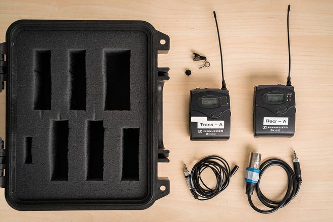 Sennheiser ew 100 ENG G3 Wireless Kit (A Frequency)