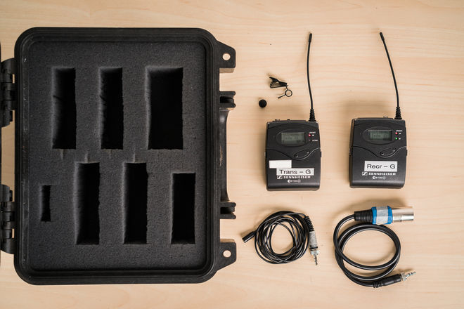 Sennheiser ew 100 ENG G3 Wireless Kit (G Frequency)
