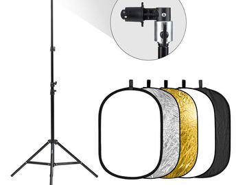 "Rent: 24 x 36"" Reflector / Diffuser kit with Stand"