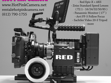 Rent: Red Epic w/ Zeiss Standard Speeds