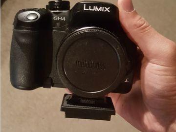 Panasonic GH4  with Metabones SpeedBooster Adapter (Canon)