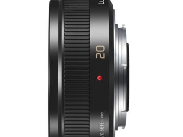 Rent: Panasonic Lumix G 20mm f/1.7 ASPH. II Lens
