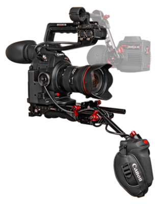 Zacuto Custom Shoulder Rig for Canon EOS C100/300/500