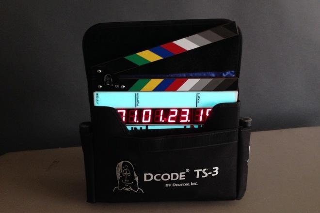 """Denecke Dcode TS-3EL Time Code """"Smart Slate"""""""