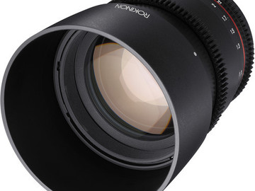 Rent: 85mm T1.5 Cine DS Lens for Canon EF Mount Rokinon