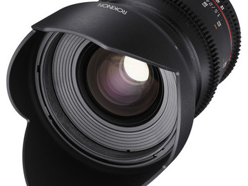 Rent: 24mm T1.5 Cine DS Lens for Canon EF Mount Rokinon