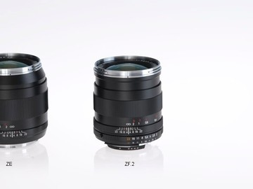 Rent: Carl Zeiss lenses package. EF mount