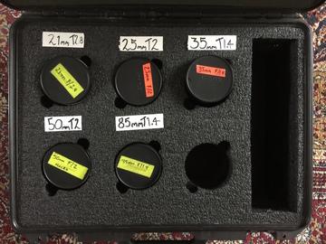 Rent: Zeiss ZF.2 Duclos Cine-Modded EF Lens Set