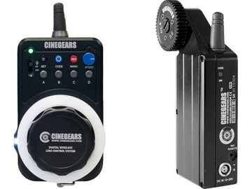 Rent: Cinegears 'Wheel' Wireless Remote and Motorized Follow Focus