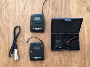 Rent: Sennheiser EW 100 ENG G3 Wireless Setup w/ Tram TR50 Mic