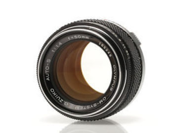 Rent: Olympus OM 50mm Vintage Lens EF Mount Adapted