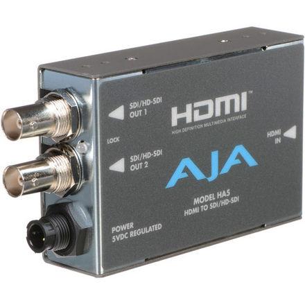 AJA HDMI to SDI converter