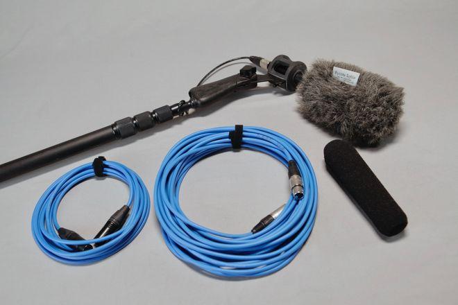 Boom Pole & Shotgun Mic Complete Kit