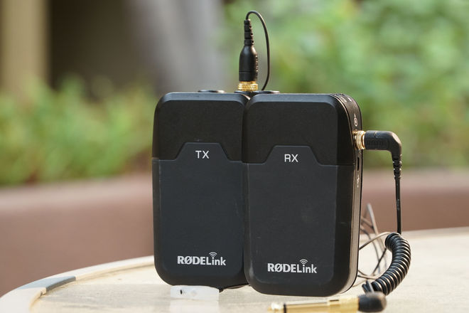 RodeLink Wireless Filmmaker Kit w/ invisiLav