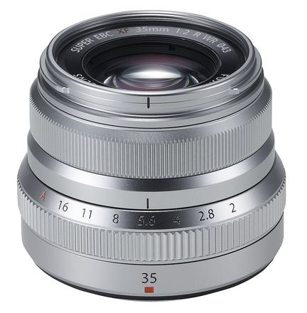 Fujinon XF35mmF2 R WR - Silver