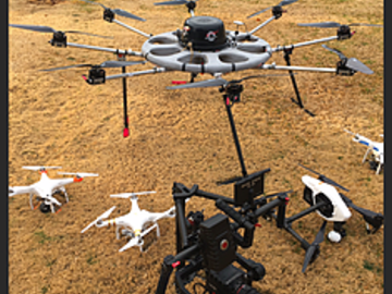 Rent: Heavy Lift Drone service ( Fly Red or Alexa Mini) FAA Cert