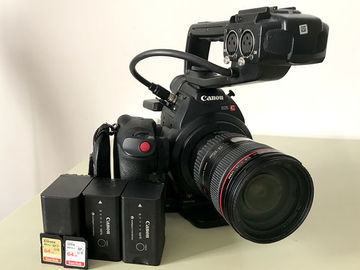 Rent: Canon EOS C100 [with Dual Pixel AF]