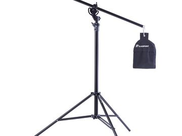 Rent: Flashpoint Pro Air Cushioned Heavy Duty Boom Light Stand