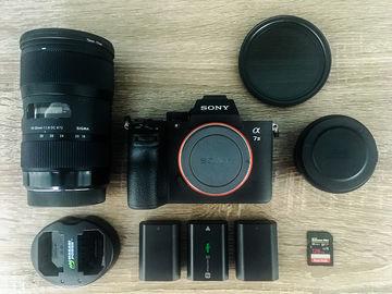 Rent: Sony Alpha A7III / EF adapter / Sigma 18-35 f1.8