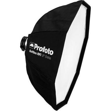 2 Profoto 3' Octa Softboxes with 2 Profoto Speedrings