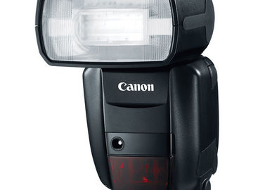 Rent: 1 Canon Speedlite 600EX-RT Flash