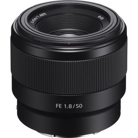 1 Sony FE 50mm f/1.8 Lens