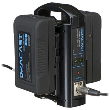 4  V Mount Batteries w/ Charger