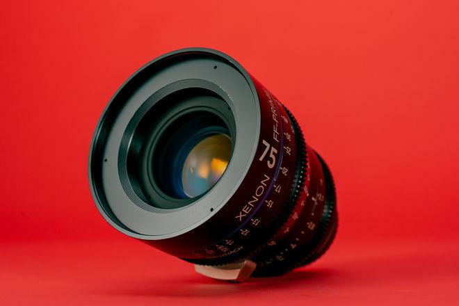 Schneider Xenon FF 75mm Lens