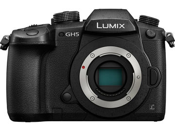 Rent: Panasonic GH5 camera body / batteries / cards