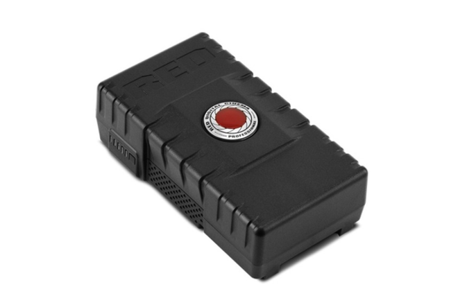 (2) RED V-mount Brick Battery 153wh and charger