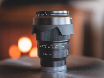 Sony 35mm f/1.4 Lens