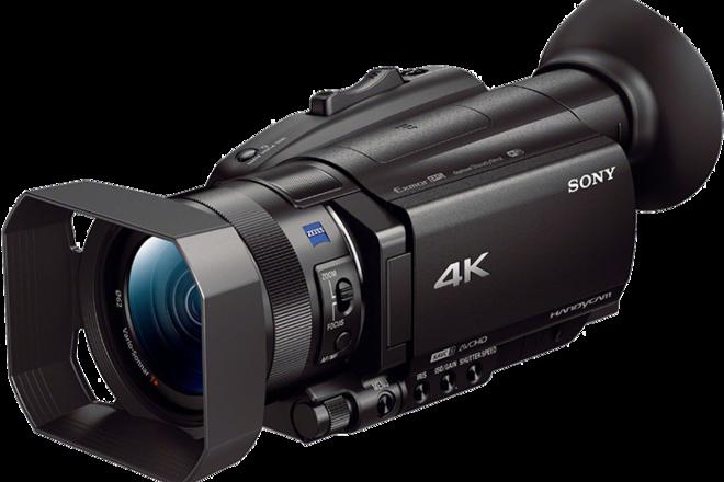 Sony FDR-AX100 4K Handycam