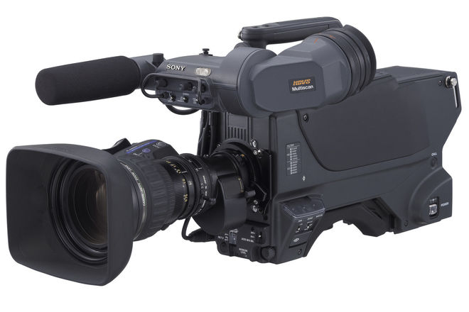 Sony HDC-1500R Multi Format HD Camera