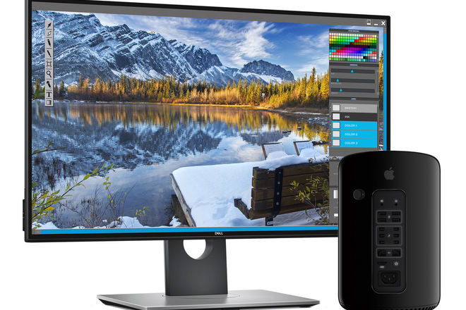 4K Editing/DIT/Post Prod system Mac Pro 12-core Dell 27-inch