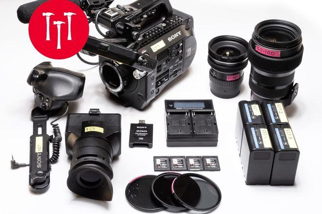 Sony PXW FS7, EF, Sigma /1.8 Art, 50-100mm, 18-35mm