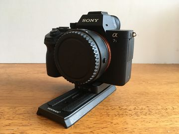Rent: Sony A7sii with batteries and EF adapter