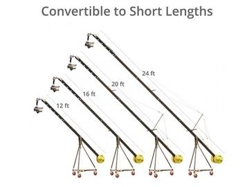 Rent: Jib up to 24 ft. Camera Crane