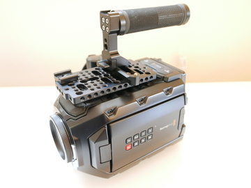 Rent: Blackmagic URSA Mini 4.6k EF mount / Ready to shoot Package