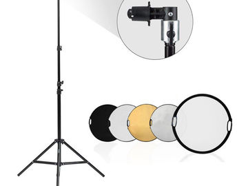 "Rent: 32"" Reflector / Diffuser kit with Stand"