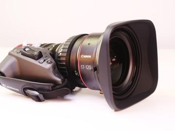 Canon 17-120 Cine Zoom EF/PL mount