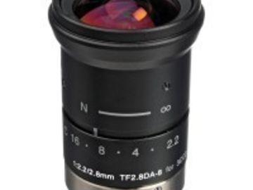 """Rent: Fujinon 8mm F2.2 TF8DA-8 1/3"""" CCD Fixed Lens"""