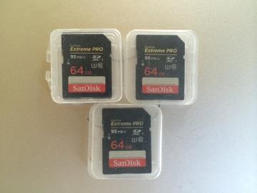 Rent: SanDisk 64GB Extreme Pro UHS-I SDXC U3 Memory Card