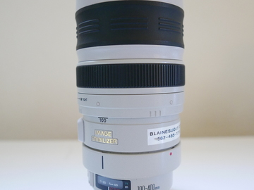 Rent: Canon 100-400mm