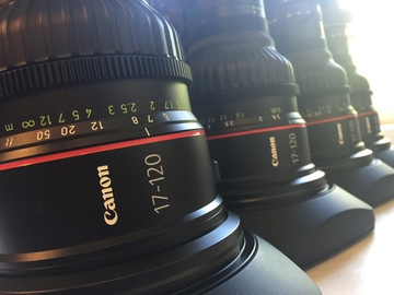 Canon 17-120mm EF or PL mount w/Cine Servo (1 of 6)