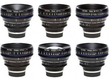 Zeiss CP2 Set of 6 T2.1 (15,21,28,35,50,85mm)