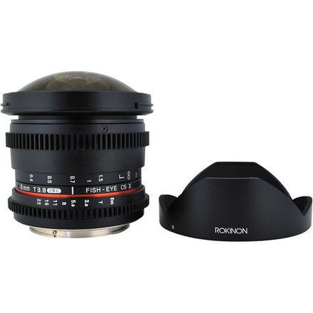 Rokinon Cine 8mm T3.8 Fisheye