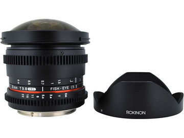 Rent: Rokinon Cine 8mm T3.8 Fisheye