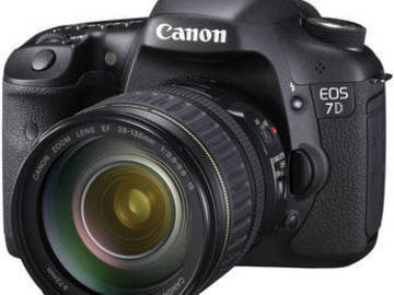 Rent: Canon 7D - Basic Package w/ 28-135 EF Lens