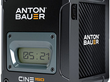 Anton Bauer Cine 150 V-Mount with charger