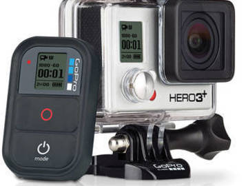 Rent: GoPro Hero3+ Black Edition - Basic Package